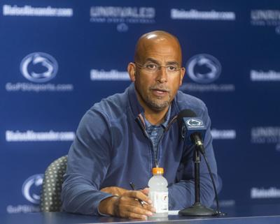 Penn State football weekly press conference, James Franklin