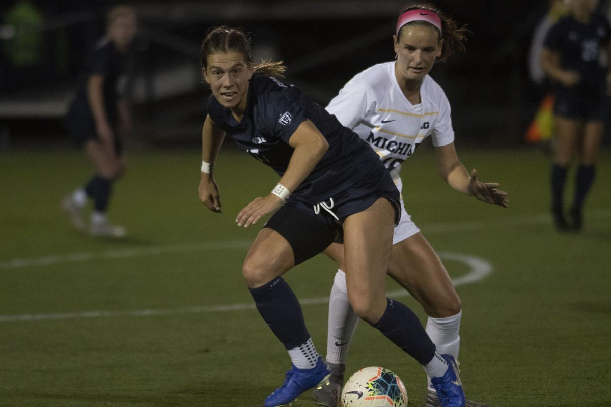 Women's Soccer vs Michigan, Coffey (17)