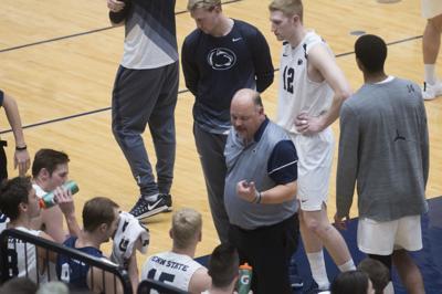 Men's Volleyball vs. Princeton: Coach Pavlik