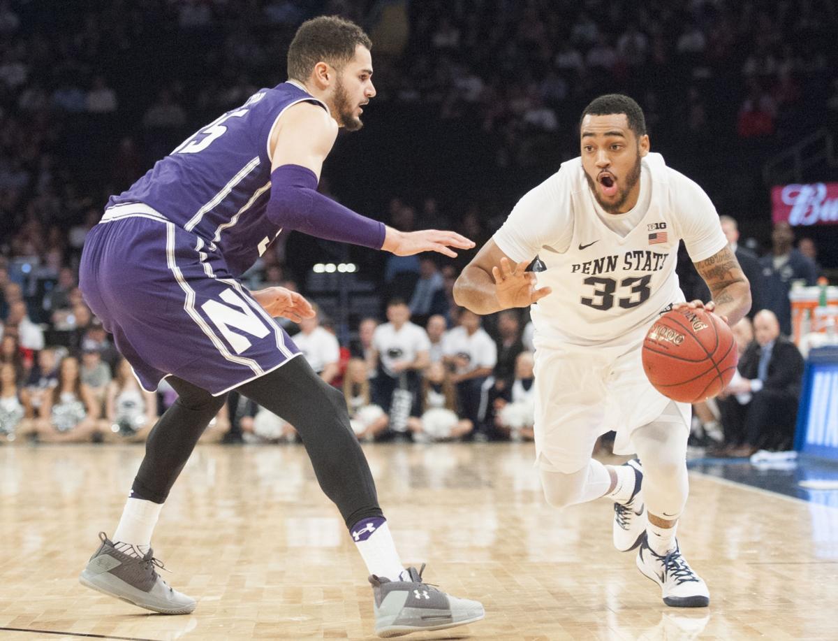 Men's Basketball Big Ten Tournament vs Northwestern, Shep Garner (33)