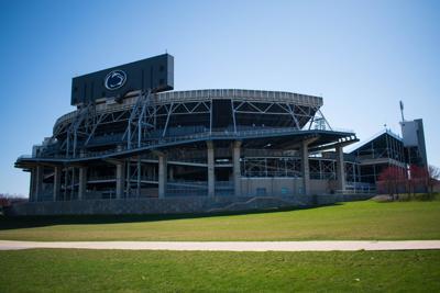 Beaver Stadium March 30
