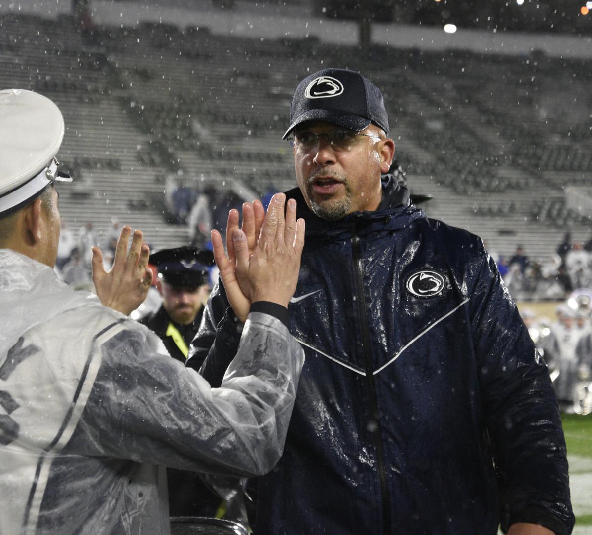 Football vs. Michigan State, Coach Franklin