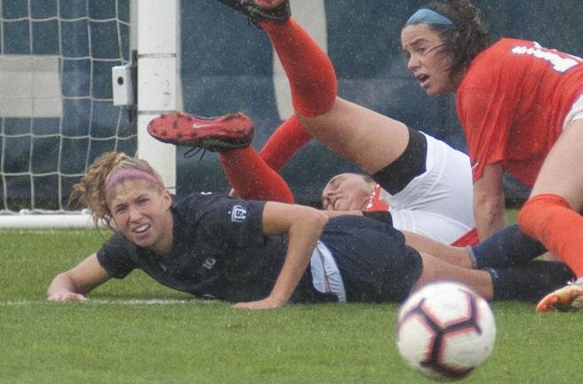Women's Soccer vs. Virginia, Kristin Schnurr (8)