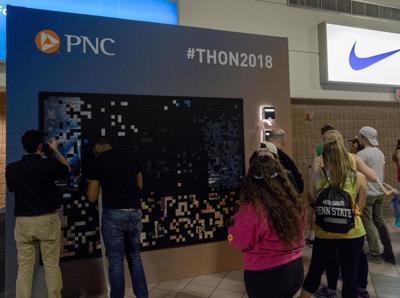 PNC Bank makes a photo mosaic of THON 2018 | THON | Penn State