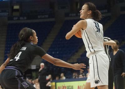 Women's Basketball vs Northwestern, Jaida Travascio-Green (31)