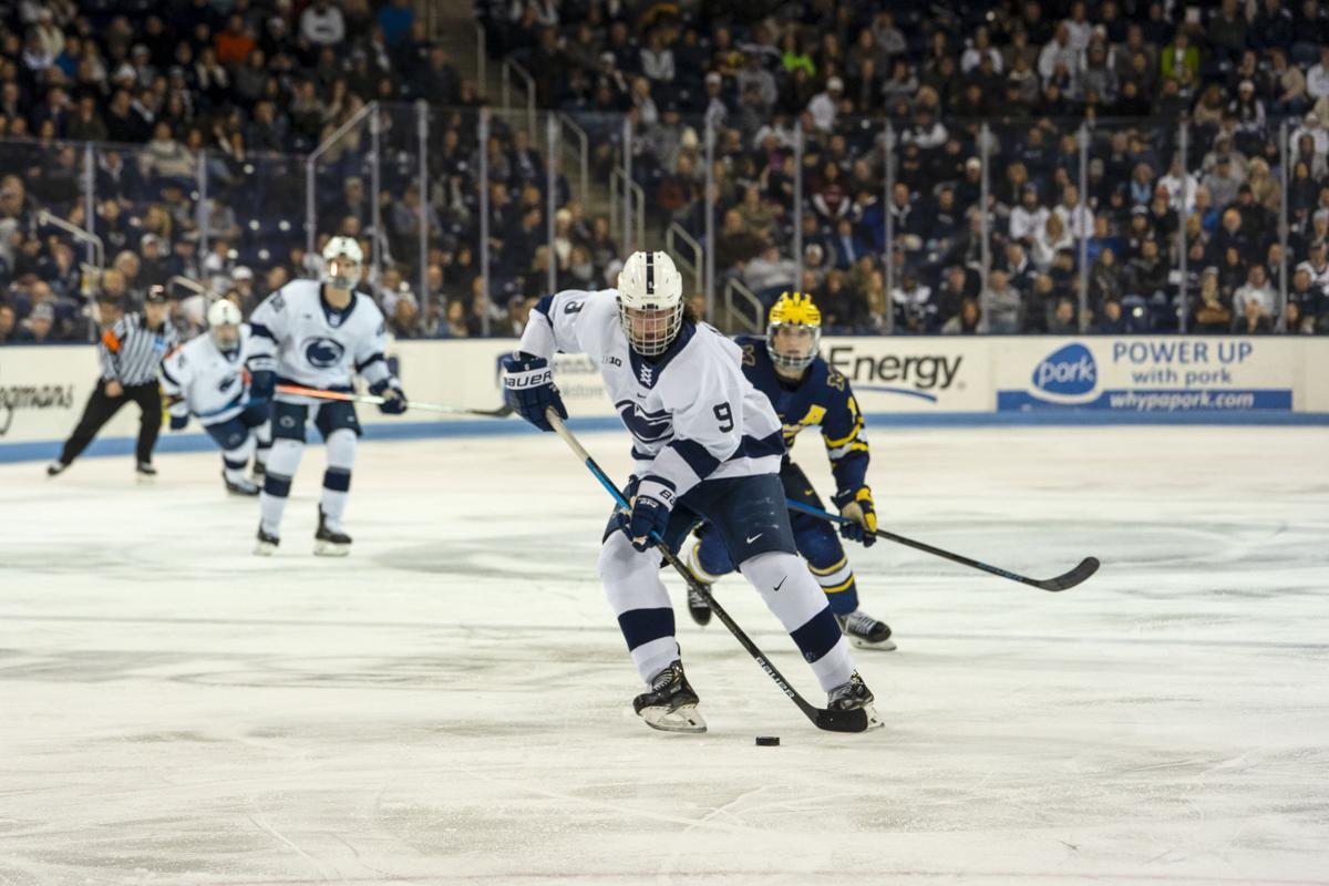 Penn State Men's Hockey vs. Michigan State, Alex Limoges (9)