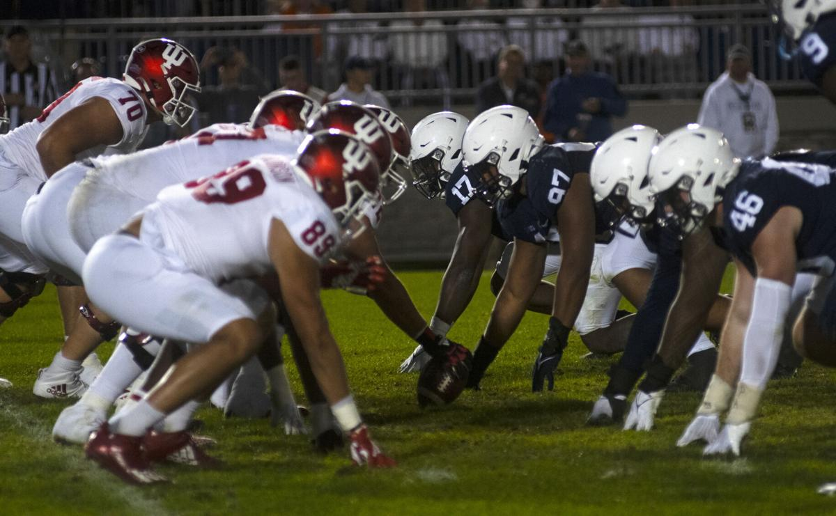 Penn State defense against Indiana