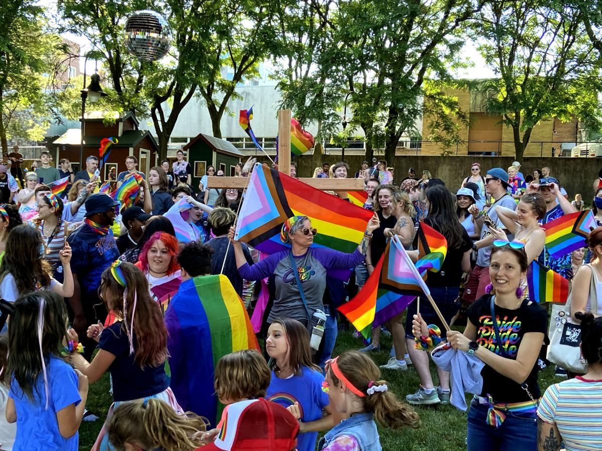 Sidney Friedman Parklet Pride 2021
