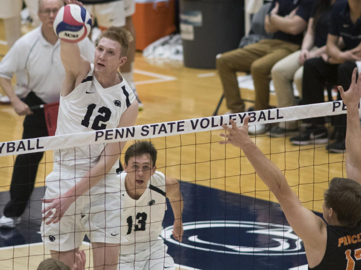 Penn State men's volleyball goes on the road for the ...