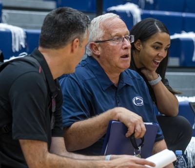Penn State women's volleyball vs Stanford, head coaches