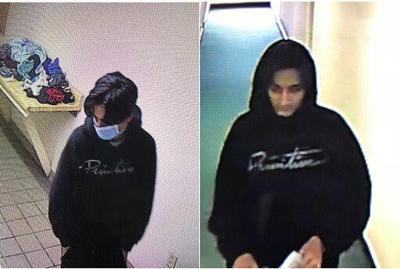 Theft suspect Friday, Sept. 18, 2020