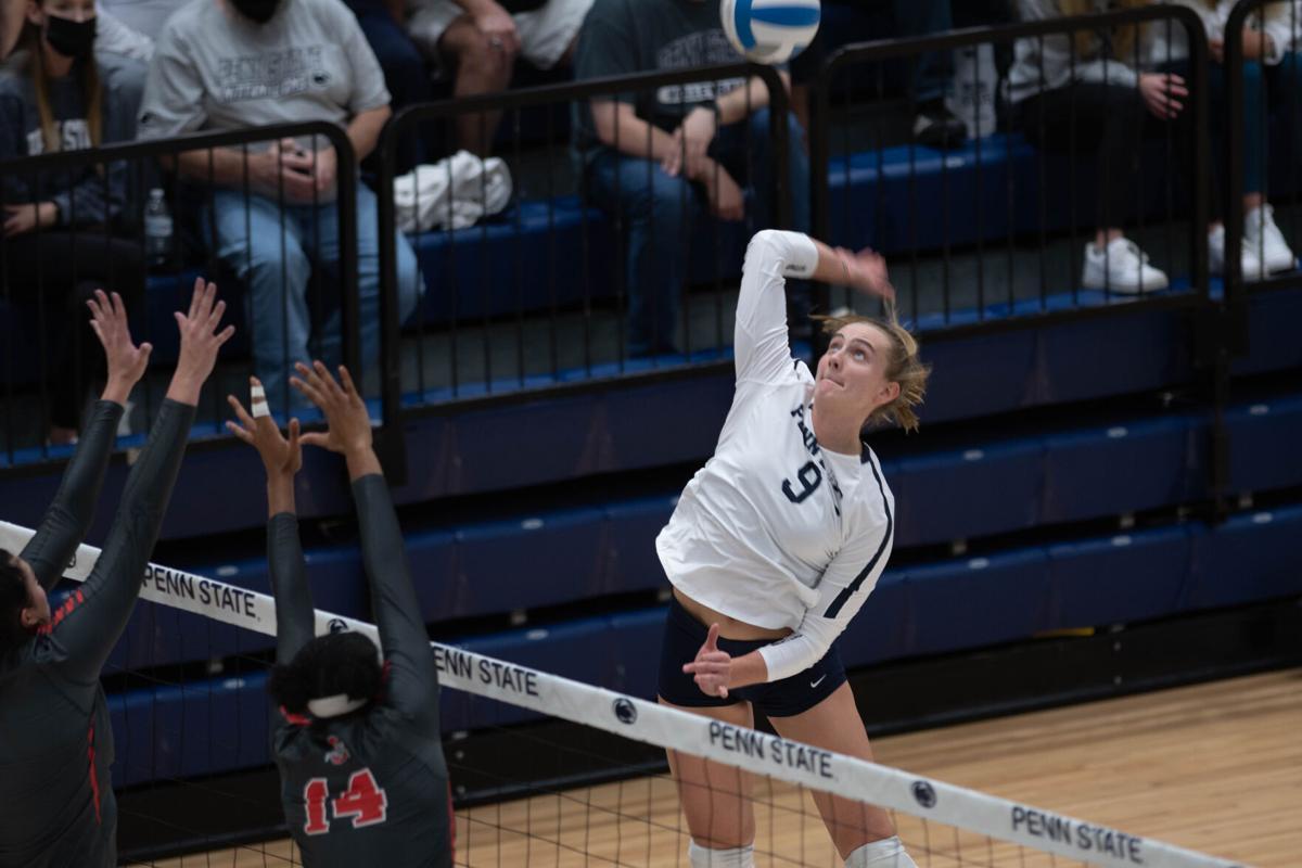 Womens Volleyball v Ohio State - Jonni Parker