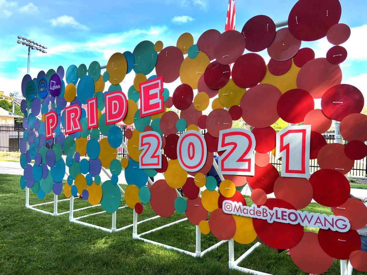 Pride 2021 Sculpture Leo Wang