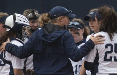 Softball vs Rutgers, Head Coach Amanda Lehotak