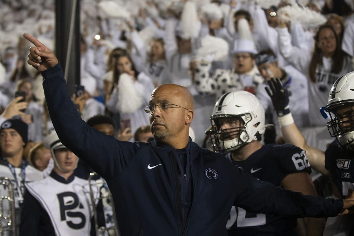 Penn State vs Michigan, Head Coach James Franklin