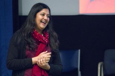 Srivi Ramasubramanian, Countering Stereotypes of Asian-Americans in the Media