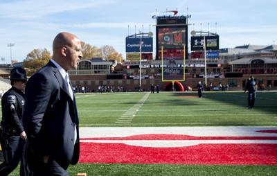 No. 10 Penn State football Franklin vs Maryland