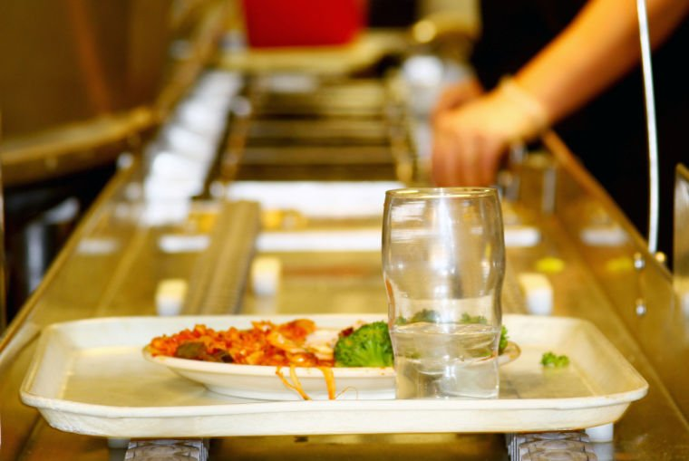 Dining tray return