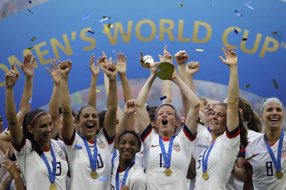United States women's world cup champions