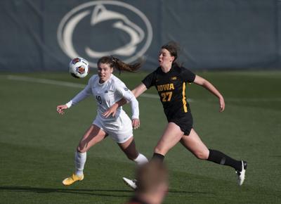 Penn State Women's Soccer vs Iowa, B1G Semi-Finals, Myers (10)