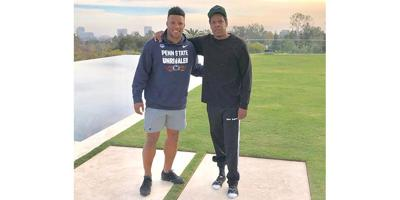 Saquon Barkley Signs With Jay Z S Athlete Agency Latest