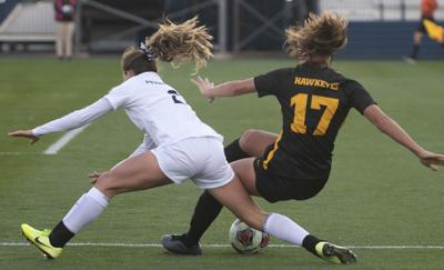Women's Soccer vs Iowa, Abello (2)