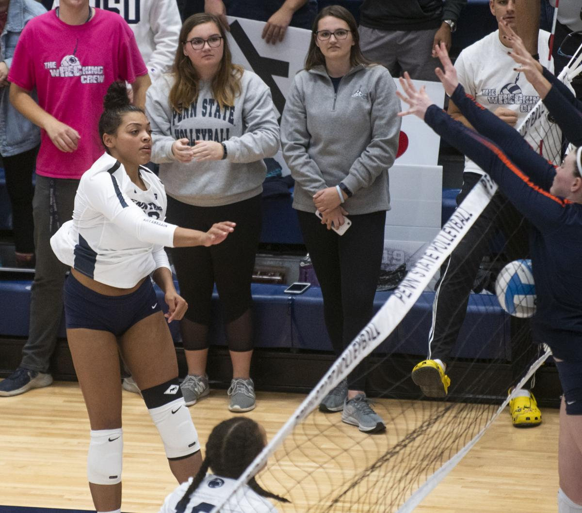 Women's Volleyball vs. Illinois, Cathey (22)