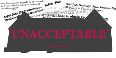 Examining greek life at Penn State after the Kappa Delta Rho
