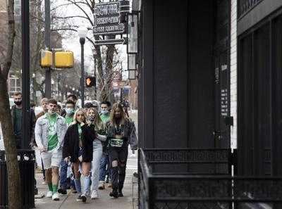 State Patty's, Students on Beaver Avenue