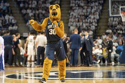 Penn State Men;s Basketball Vs. Minnesota, Nittany Lion Dancing