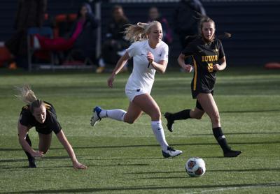 Penn State Women's Soccer vs Iowa, B1G Semi-Finals, Tagliaferri (19)