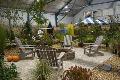 Horticulture Show, chairs