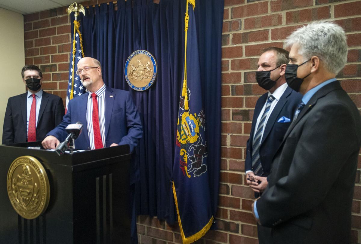 State Representation Scott Conklin press conference