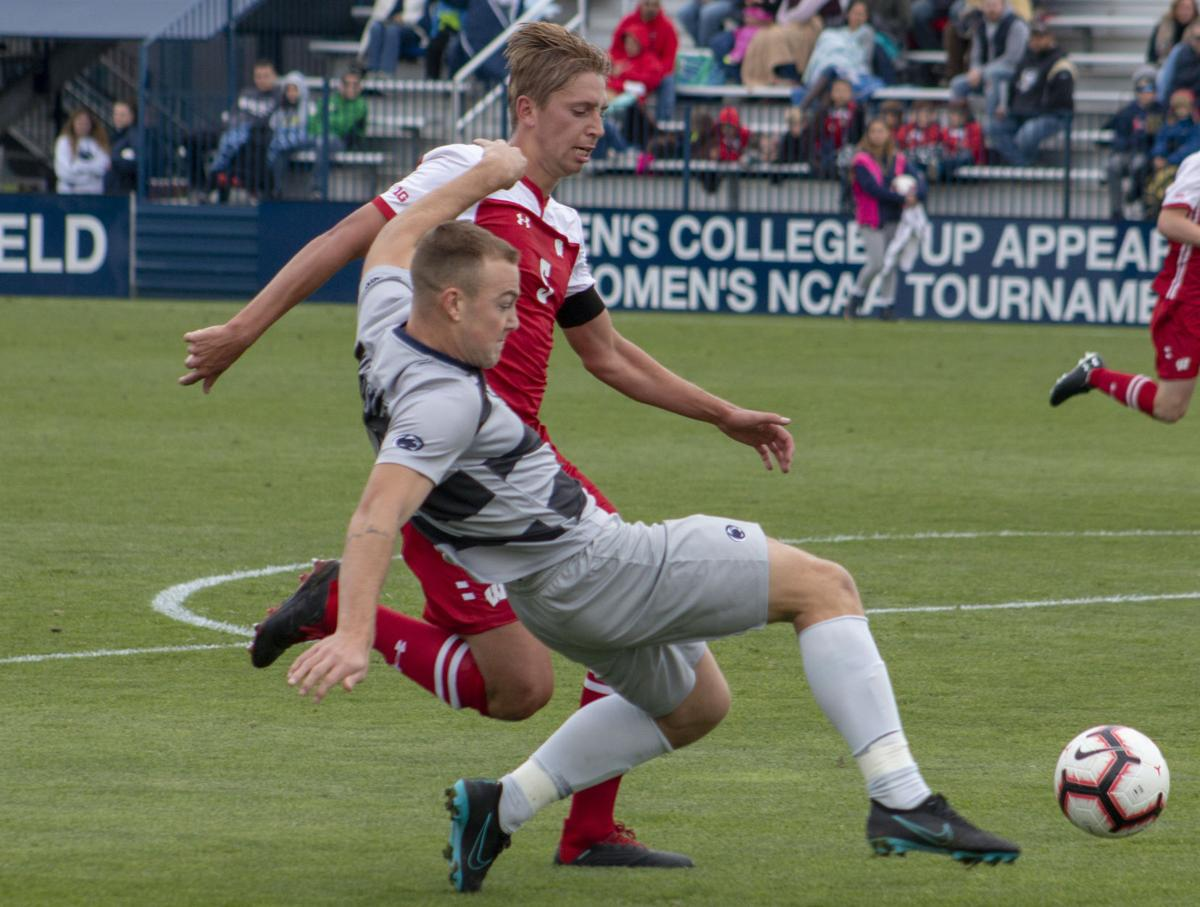 Penn State Men's Soccer vs. Wisconsin, Mac Curran (14)