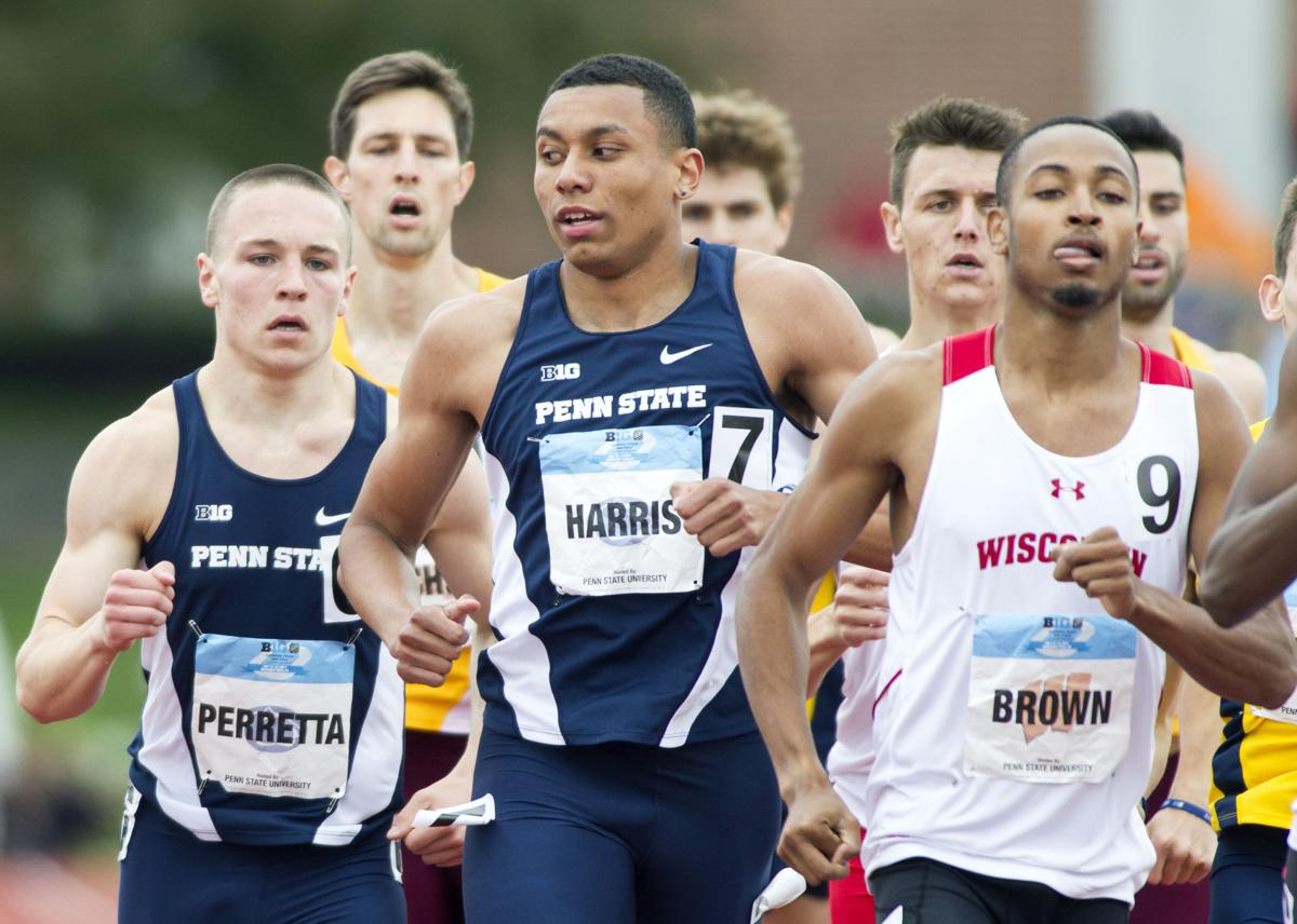Penn State track and field star Isaiah Harris signs with Nike, forgoes college eligibility