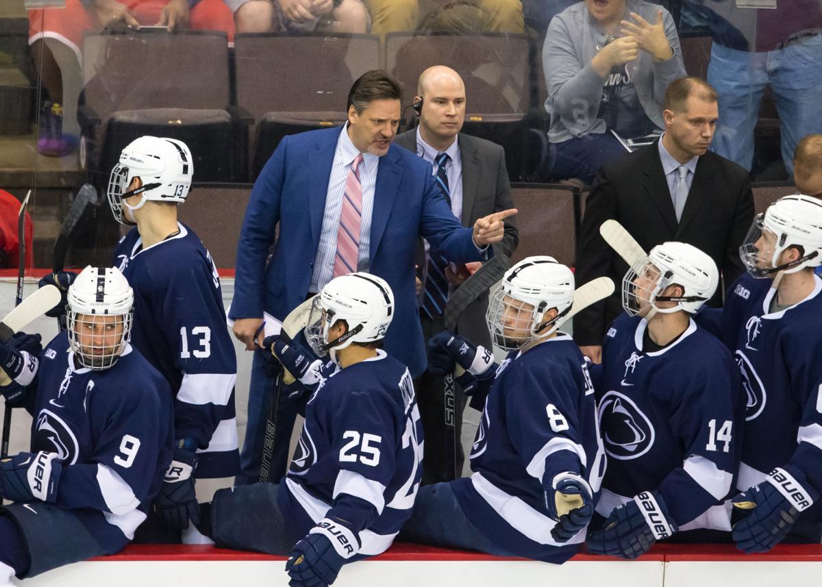 Penn State men's hockey introduces Kyle MacDonald as an ...