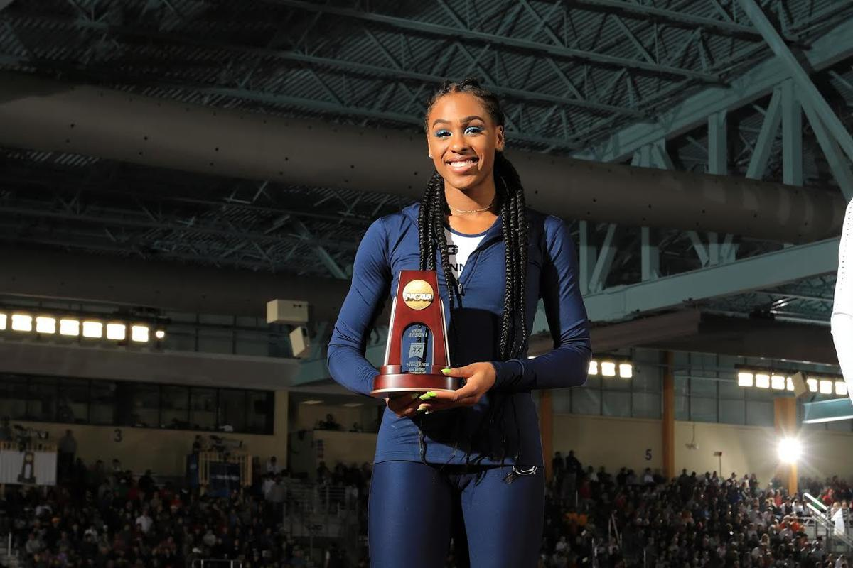 Alexis Holmes, track and field