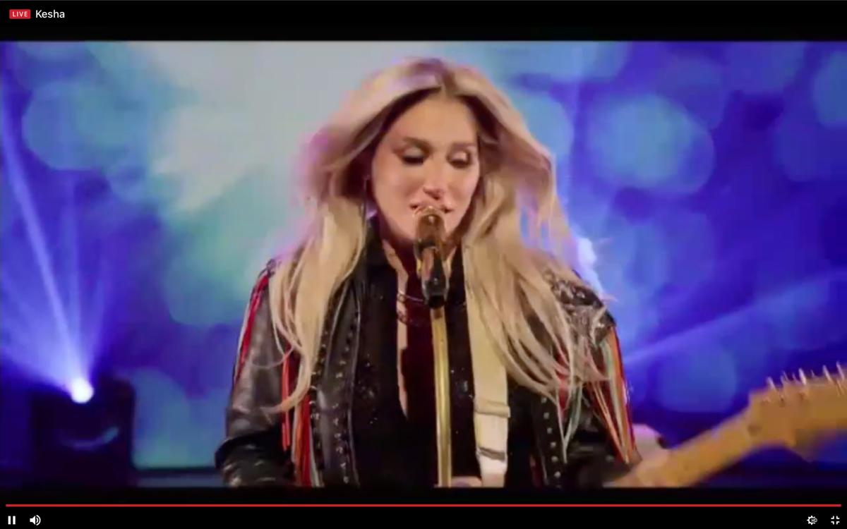 Kesha performs at SPA