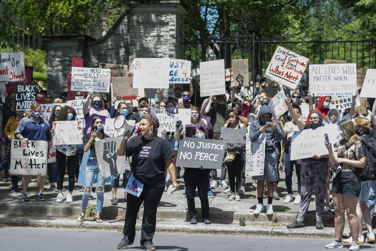 BLM protest, Nanre Nafziger