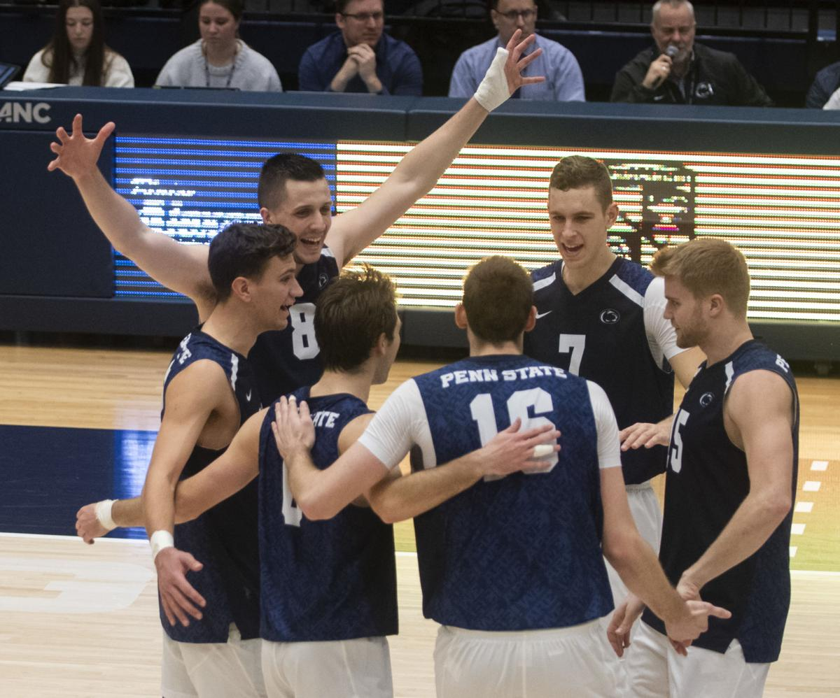 Penn State Men S Volleyball Completes Comeback Victory Over Princeton Penn State Volleyball News Daily Collegian Collegian Psu Edu
