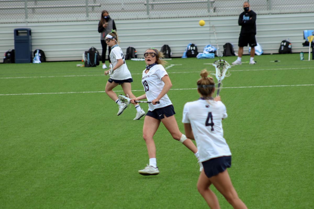Women's Lacrosse vs Johns Hopkins, players