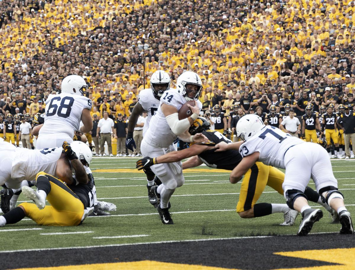 Penn State football vs. Iowa, Clifford (14) touchdown
