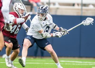 Penn State men's lacrosse vs Lafayette, Mac O'Keefe (3) scores