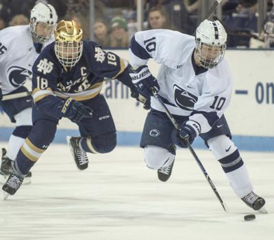 Penn State Men's Hockey vs. Notre Dame, Brandon Brio (10)