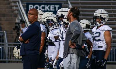 Penn State Football Practice, Franklin