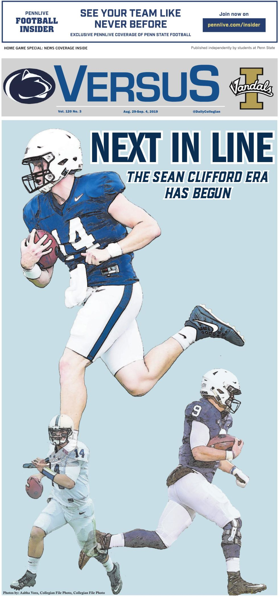 The Daily Collegian for Aug. 29, 2019
