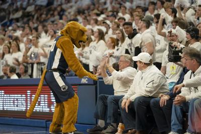 Penn State Men's Basketball Vs. Minnesota, Nittany Lion High Five