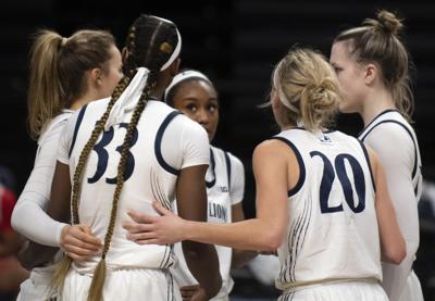 Penn State Women's Basketball vs Ohio (group)