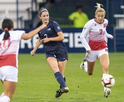 Penn State Women's Soccer vs. Nebraska, Kaleigh Riehl (3)