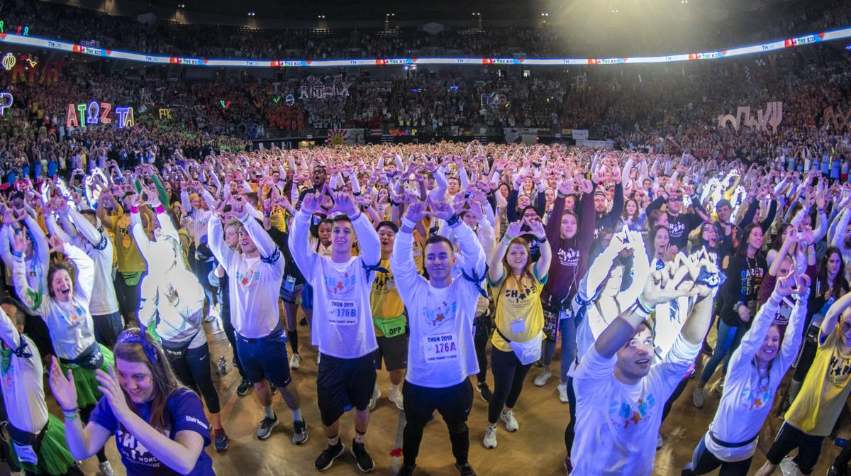 THON, Friday First Line Dance